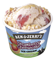 Foto Ben & Jerry's Strawberry Cheesecake 100ml